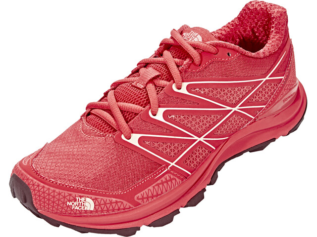 The North Face Litewave Endurance Shoes Women Cayenne Red/Tropical Peach